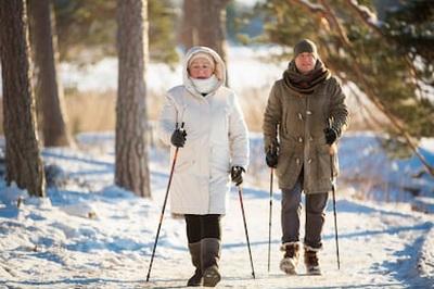 Все про скандинавскую ходьбу с палками