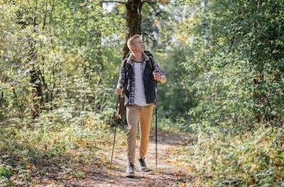 Скандинавская ходьба польза и вред, чего больше?