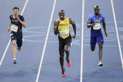 Усейн Болт – самый быстрый из людей