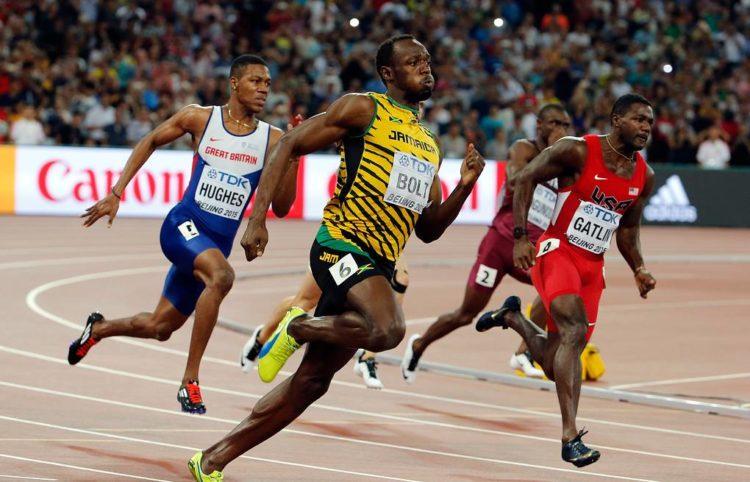 Усейн Болт и Карл Льюис сравнение как спринтеров