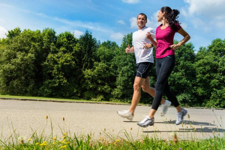 Медленный бег, для здоровья