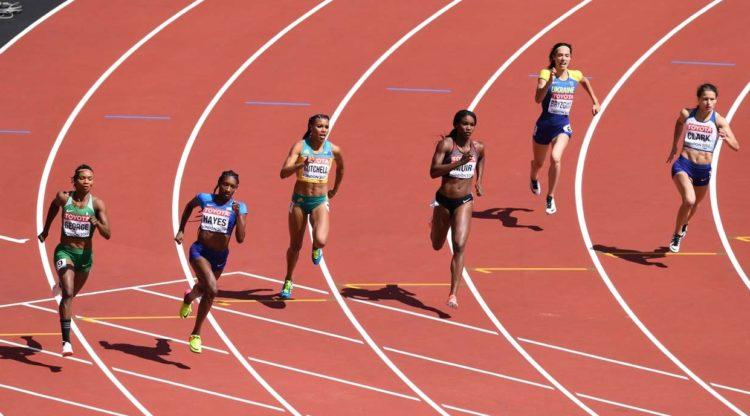 Техника бега на 400 метров