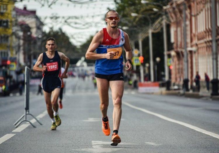 Определяем темп бега